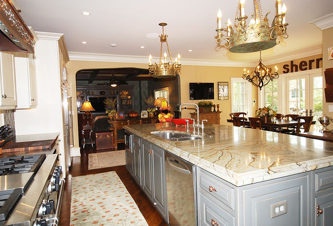 English Country, Westfield, New Jersey, Residential, Commercial, Architect, Vincentsen Blasi