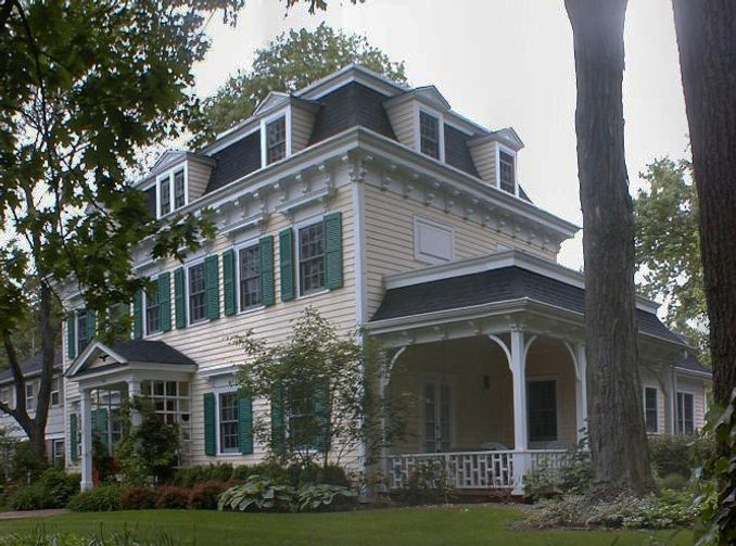 Victorian, Second Empire, Addition, Alteration, Front Porch, Historic Preservation, Westfield, New Jersey, Architect