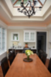 Colonial Addition and Alterations Eating Area  Westfield New Jersey Residential Commercial Architect