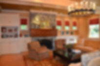 Shingle Style Addition and Alteration Living Room Westfield New Jersey Residential Commercial Architect