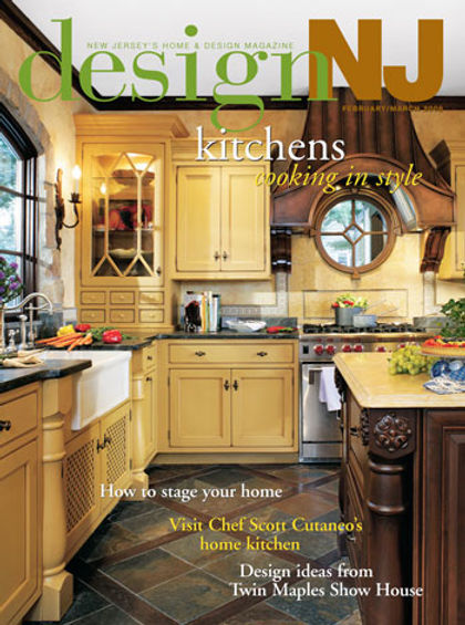 Tudor Addition and Alteration Kitchen Remodel design NJ Magazine Cover Westfield New Jersey Residential Commercial Architect