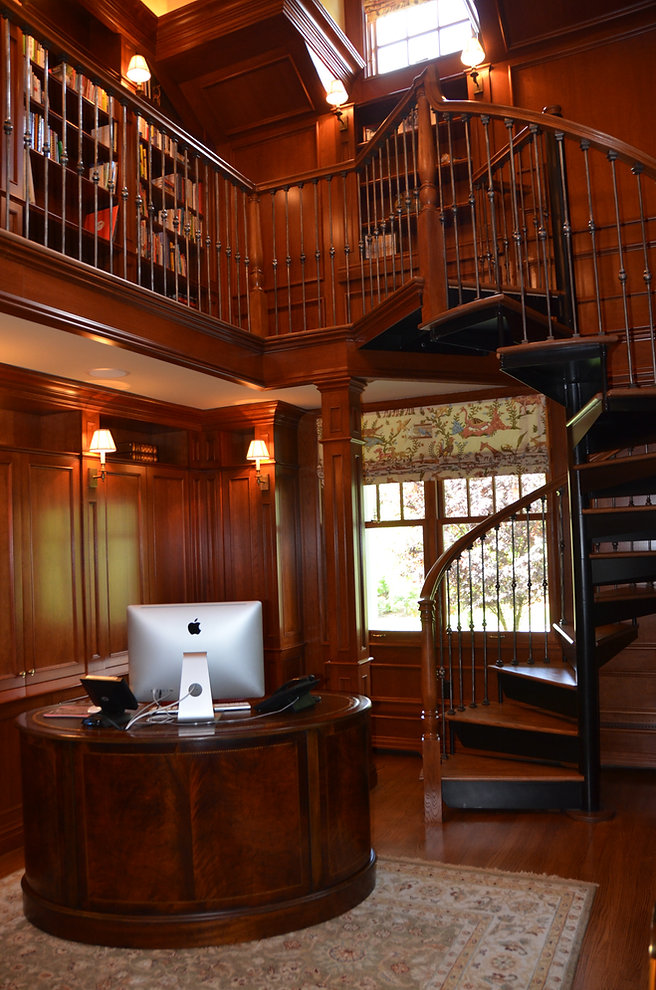 Shingle Style Addition and Alteration Library Westfield New Jersey Residential Commercial Architect
