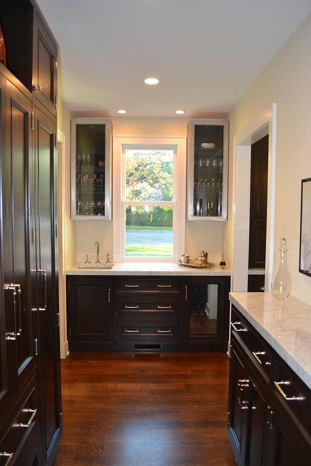 Colonial Addition Butler's Pantry Westfield New Jersey Residential Commercial Architect, Vincentsen Blasi