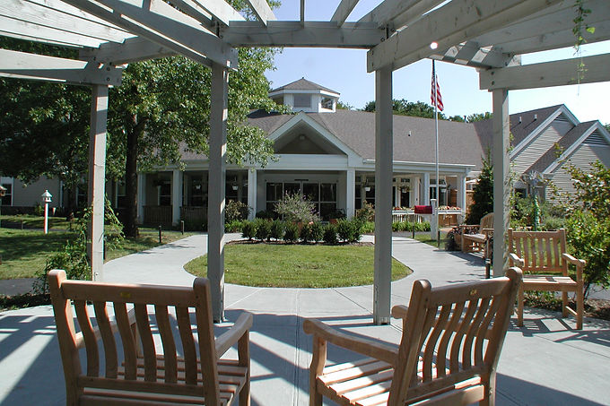 Vincentsen Blasi Architects, Vincentsen Blasi Architecture, Architects, Westfield, NJ, Healthcare, Alterations, Additions, Renovation, Commercial Architects, Pergola