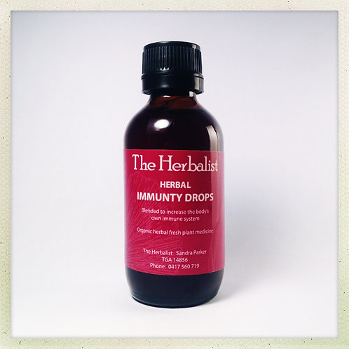 Herbal Immunity Drops  100ml