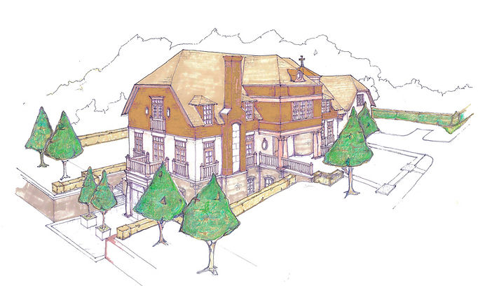 Religious, Church, Parish Center, Rectory, Alteration, Addition, Westfield, New Jersey, Architect, Vincentsen Blasi