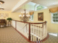 Shingle Style Stairway Westfield New Jersey Residential Commercial Architect