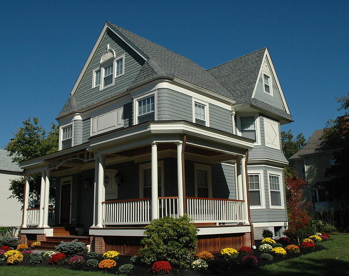 Office Building, Alteration, Porch, Wrap Around Porch, Westfield, New Jersey, Architect