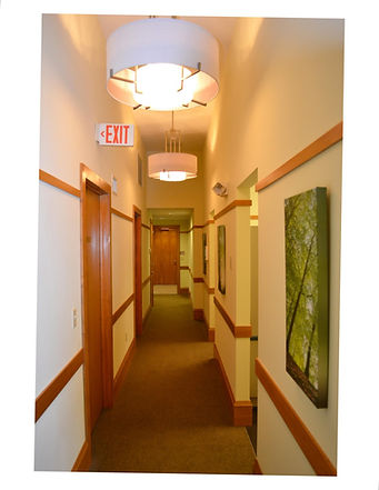 Dental Office, Office Building, Alteration, Interiors, Hallway, Westfield, New Jersey, Architect