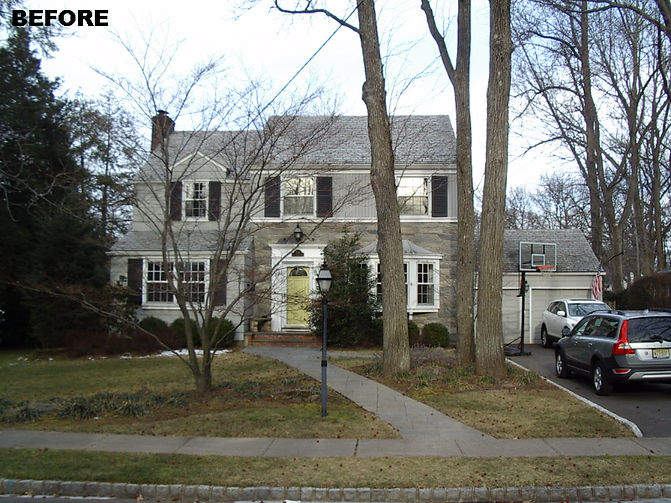 Colonial Addition and Alterations Westfield New Jersey Residential Commercial Architect