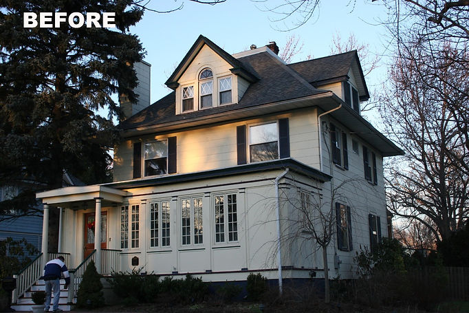Colonial Revival Westfield New Jersey Residential Commercial Architect