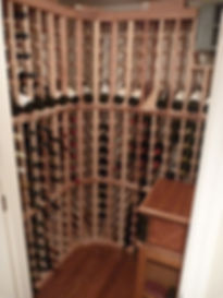 Colonial Addition and Alterations Wine Closet Westfield New Jersey Residential Commercial Architect