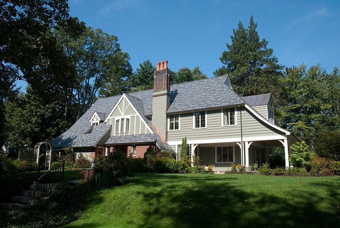 Eclectic Tudor Addition Westfield New Jersey Residential Architect