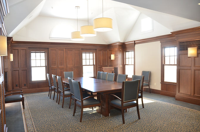 Vincentsen Blasi Architects, Vincentsen Blasi Architecture, Architects, Westfield, NJ, Cemetery, Alterations, Additions, Renovation, Commercial Architects, Office space, Conference Room