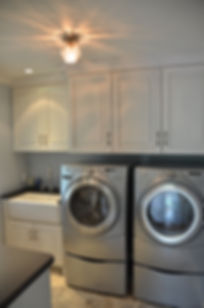 Colonial Addition and Alterations Laundry Room Westfield New Jersey Residential Commercial Architect