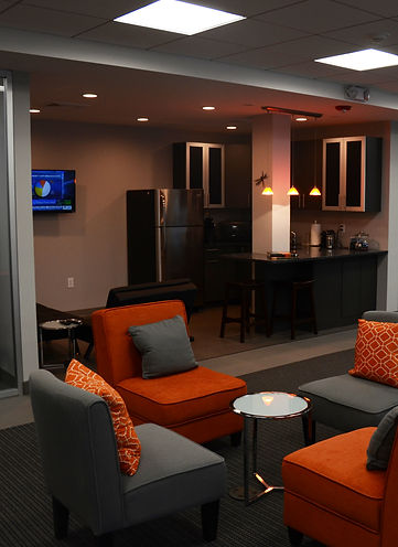 Office Building, Alteration, Interiors, Office Space, Kitchen, Kitchen Area, Westfield, New Jersey, Architect
