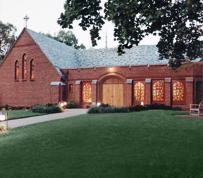 Religious, Church, Stained Glass WIndows, Wood Doors, Alteration, Addition, Westfield, New Jersey, Architect
