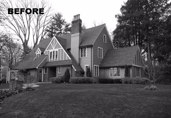 Eclectic Tudor Westfield New Jersey Residential Architect