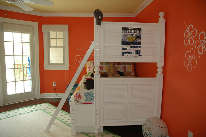 Contemporary, Addition, Alteration, Vacation Home, Kids' Bedroom, Westfield, New Jersey, Architect