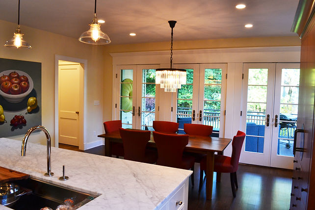 Colonial Addition Eating Area Westfield New Jersey Residential Commercial Architect, Vincentsen Blasi
