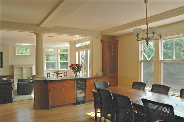 Victorian, Addition, Alteration, Vacation Home, Dining Room, Family Room, Westfield, New Jersey, Architect