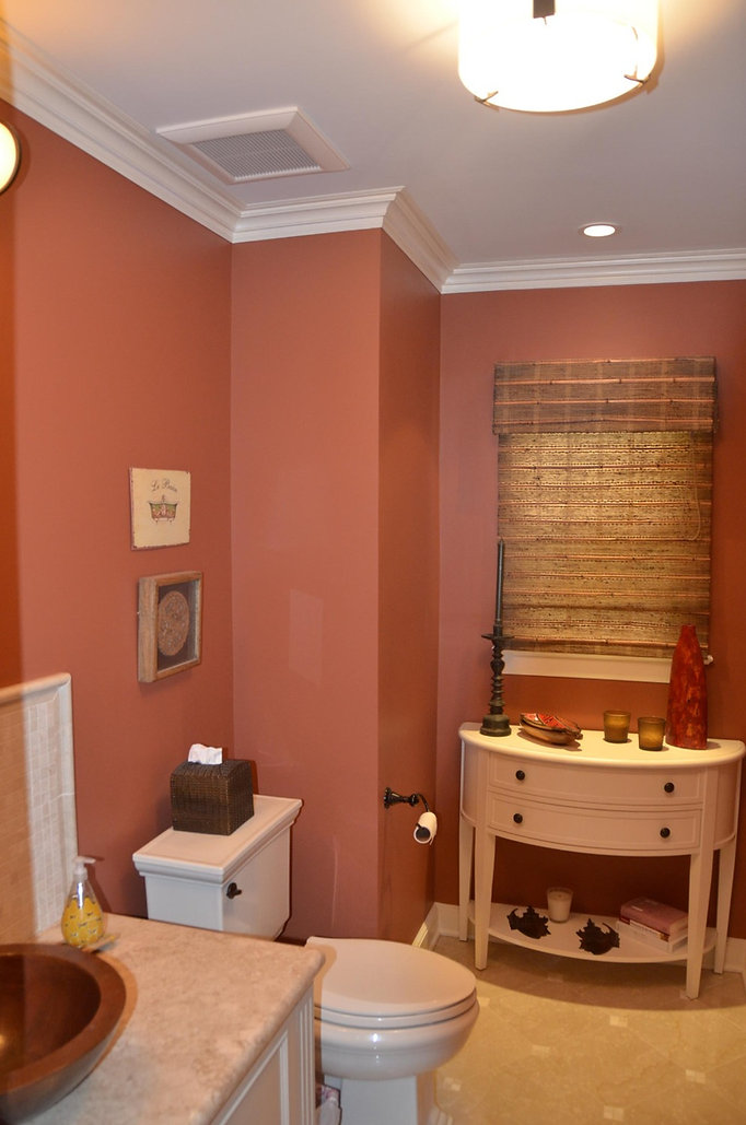 Colonial Addition and Alterations Bathroom Westfield New Jersey Residential Commercial Architect