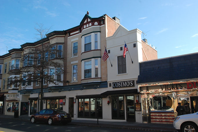 Restaurant, Alteration, Addition, Front Facade, Westfield, New Jersey, Architect