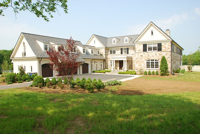 Anglo Mediterranean, New Construction, Westfield, New Jersey, Residential, Commercial, Architect