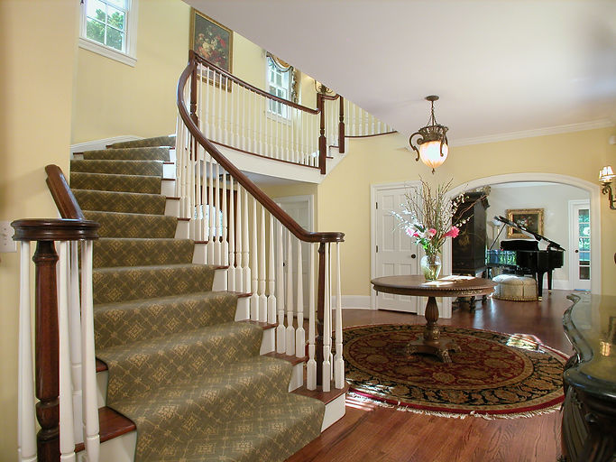 Shingle Style Foyer Westfield New Jersey Residential Commercial Architect