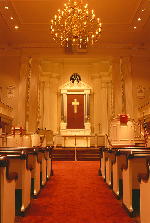 Religious, Church, Sanctuary, Historic, Alteration, Addition, Westfield, New Jersey, Architect