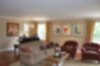 Colonial Addition and Alterations Living Room Westfield New Jersey Residential Commercial Architect