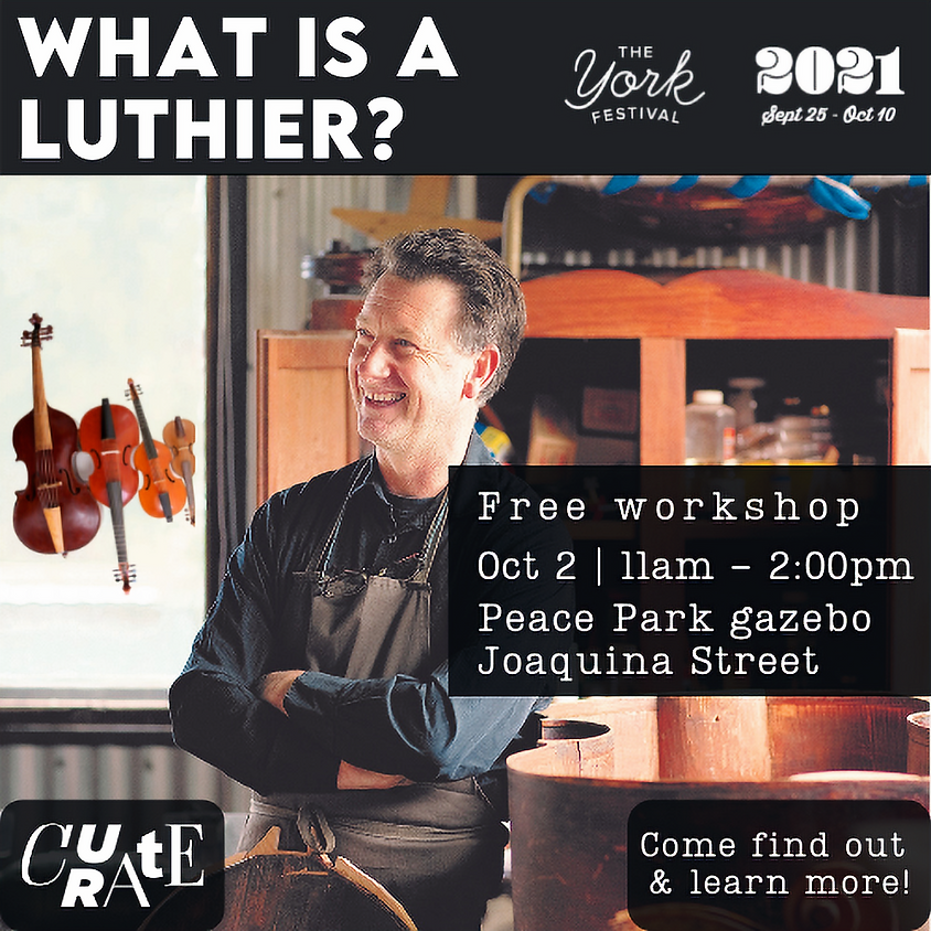 What is a luthier? workshop