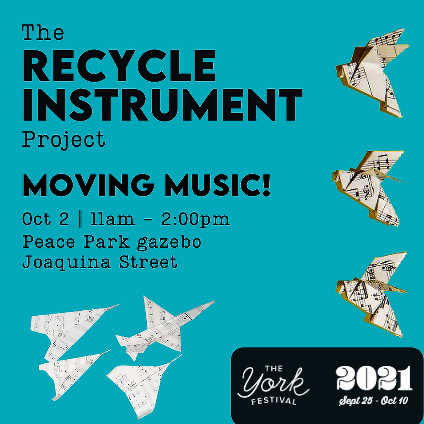 The Recycle Instrument Workshop: Moving Music