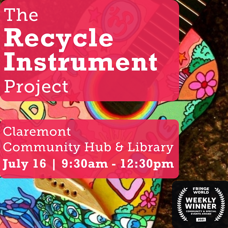 Town of Claremont  - The Recycle Instrument Project