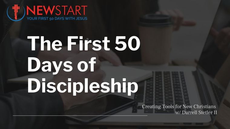 Darrell Stetler II talks about how to build holy habits into the lives of new Christians by creating tools like the NewStart Discipleship journal. For more info, or to download a free evaluation copy of the journal, visit www.newstartdiscipleship.com
