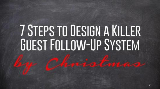 7 STeps to Build a Killer Guest Follow-Up System - webinar