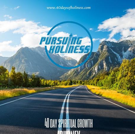 40 Days of Holiness Workbook