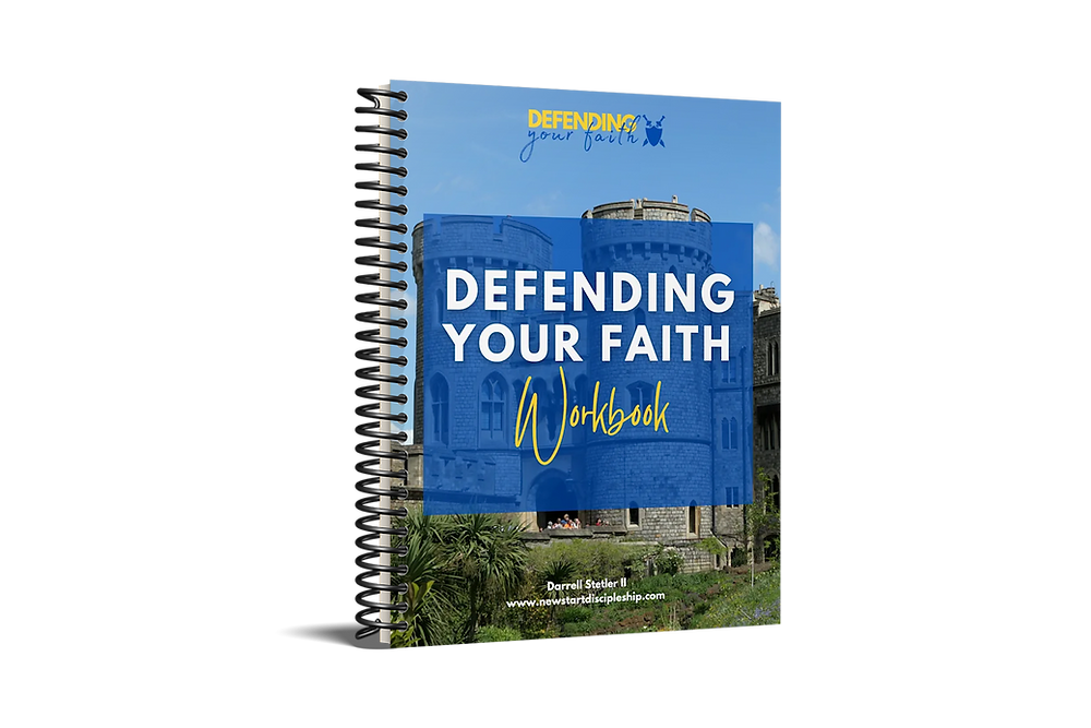 Free Workbook on Defending Your Faith for New Christians