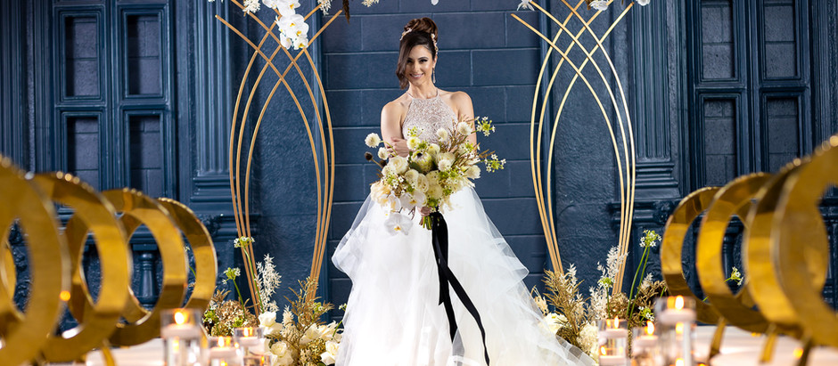 Check out our new fall bridal shoot that is published in Elegant Wedding Magazine