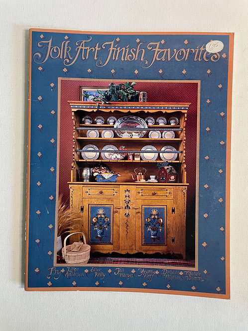 Folk Art Finish Favorites by M.Walton and others
