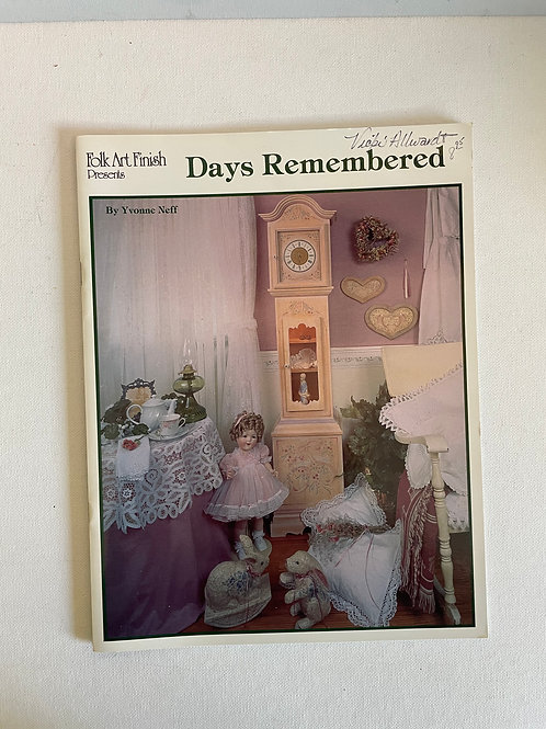 Days Remembered, Yvonne Neff