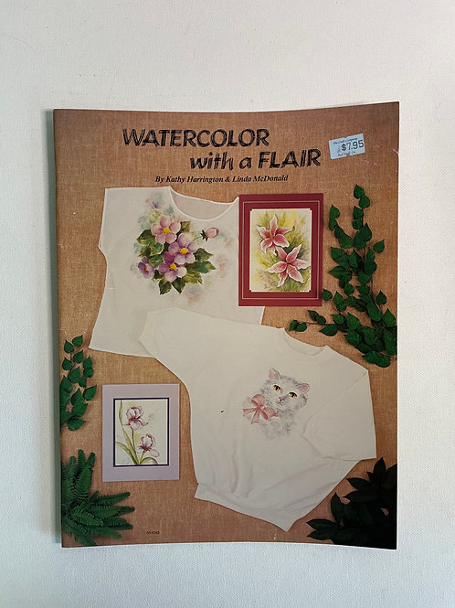 Watercolor with a Flair by Harrington & McDonald