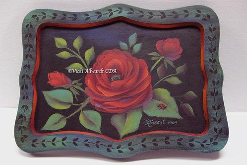 Red Stroke Rose ePacket