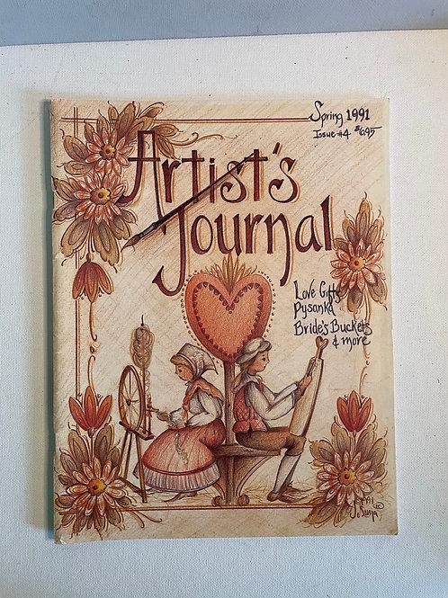 Artist Journal Spring 1991 by JoSonja