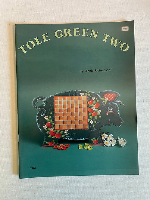 Tole Green Two, by Annie Richardson