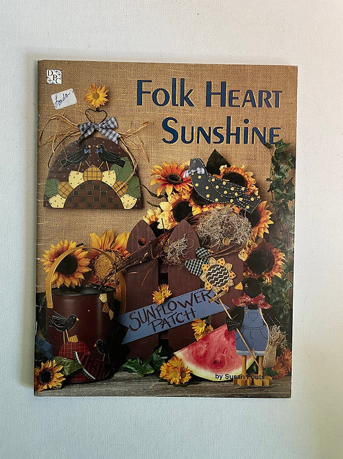 Folk Heart Sunshine by Susan Fouts