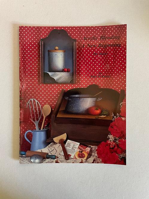Acrylic Blending A New Beginning, Patti DeRenzo