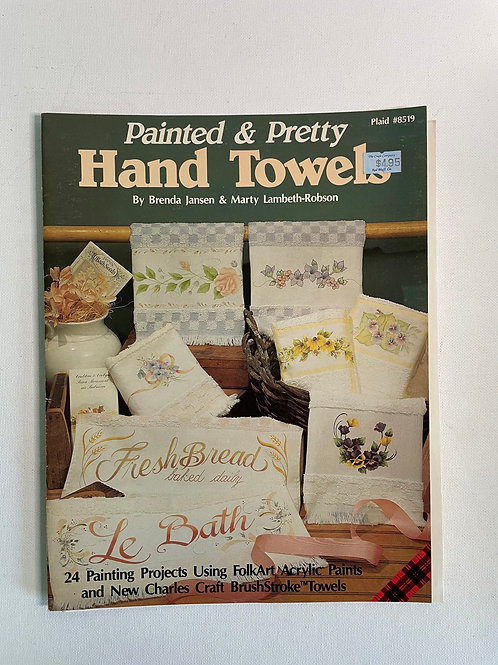 Painted & Pretty Hand Towels