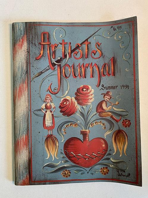 Artist Journal Summer 1994 by JoSonja