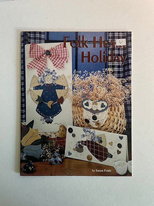Folk Heart Holiday by Susan Fouts